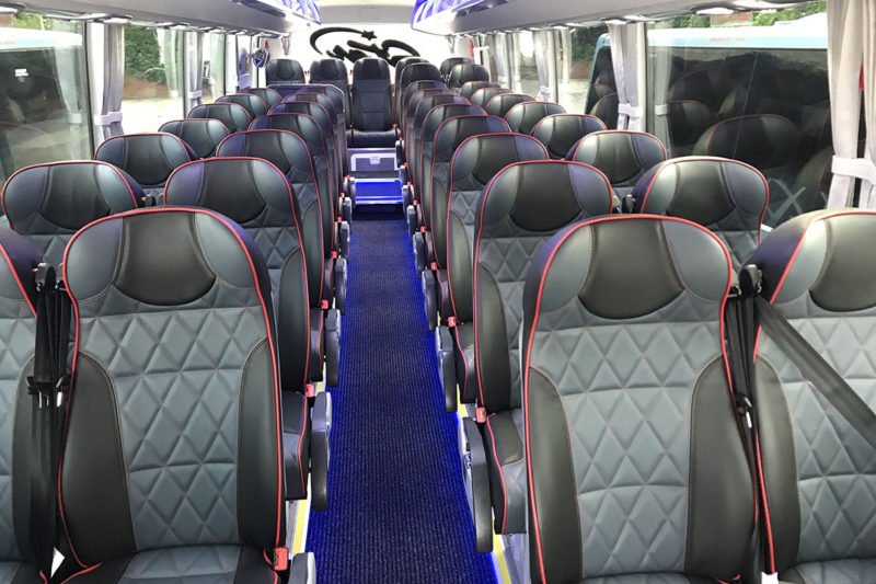 New Bus Seats