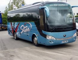 Small Bus for Trip