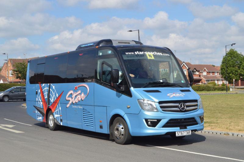 Star Coaches Mini Bus