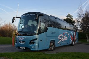Coach hire in Bradford